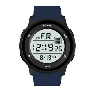 Luxury Sports Watch Men Analog Digital Military Sport Watches LED Waterproof Wristwatch Gift For Men 2019 Relogio Masculino Q4