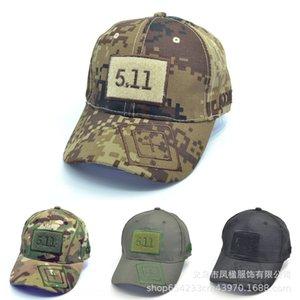 511 511 béisbol táctica de camuflaje casquillo de la pesca gorra de béisbol del ocio del alpinismo