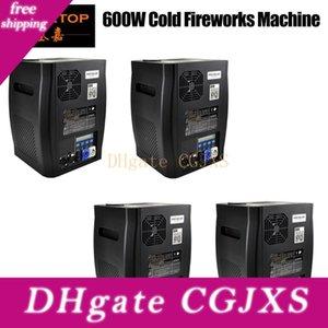 4 unités freeshipping Titanium étape Spark machine DMX512 / Télécommande sans fil Long Time No Jet Cold Fire Spark Fountain