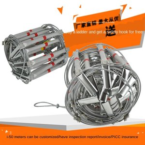 etal escape Steel wire wire rope soft aluinu alloy ladder fire protection soft Ladder 5 10 15 m 20 m 30m