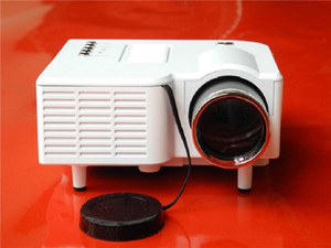 HD Home Projector Mini Portable Mini 3D Projector Apple Computer TV UC28+ for free shipping 08