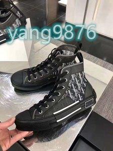 2020 New Luxury Basketball sandals Flowers Technical Canvas shoes High Top Oblique Casual shoes 3M Mens Women luxury Designer designer shoes