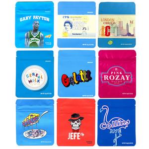 Neu Cookies mylar-Taschen ziplock Verpackung 3.5 1/8 Cheetah Piss Berry Pie Gary Payton Sealer Lagerung von Lebensmitteln