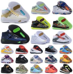 블랙 화이트 농구 신발 남성 KD (13S) (12) 무엇 이모 진주 스포츠 운동화 크기 40-46 시작 2020 KD3 케빈 듀란트 XIII KD13