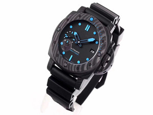 designer watches automatic watch gold watch VS new 960 orologio di lusso silicone strap movement watches super luminous carbon fiber dial