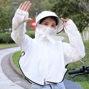 DpIvV 2019 clothes bicicleta protetor solar roupas femininas Mid-length 2019 novo respirável ultra-fino vestuário protector solar verão ciclismo Ko
