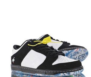 2020 Release Authentic Staple x Dunk SB Low Pro OG QS Running shoes For Men Women Skateboard Sports Sneakers BV1310-013 Originals BOX
