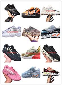 Alta qualità 700 MNVN Mens pattini correnti delle donne a buon mercato vanta 700 V3 Alvah Azael inerzia Kanye West Lattea Magnete V2 Mist Alien Runner Sneakers