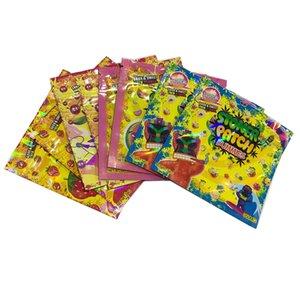 Kuru Ot Çiçek, çocukların açamayacağı Edibles Ambalaj için Packaging STONER YAMA MANKENLERİ Şeker Çanta 7 Stiller Vape Kartuş
