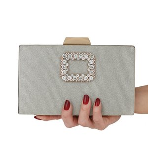 2020 New Fashion Lady Diamond Clutch Evening Bag Female Cosmetic Bag