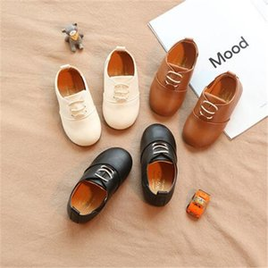 2020 new autumn fashion casual children's leather shoes soft bottom Slip Comfortable baby prewalker boys girls baby toddler shoes