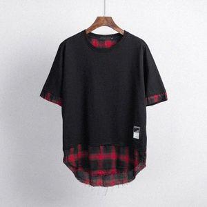 Designer Mens Tshirt Moda Patchwork Sports Tshirts Slim Comfort T Shirt Algodón Tendencias Hombres Calidad 1gu #