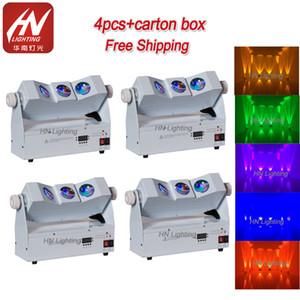 Wedding DJ Wireless Uplighting 3x10w RGBA 4IN1 Tri raggio LED Wall Washer wireless Dmx Uplight a pile ha condotto le luci della fase