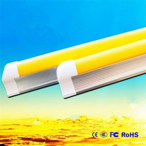 Германия Anti UV T8 LED Tube Yellow Safe Integrated G13 2ft 3ft AC85-265V вздутие Лампы NO Ультрафиолетовый Защита экспозиции Аппаратная из Китая
