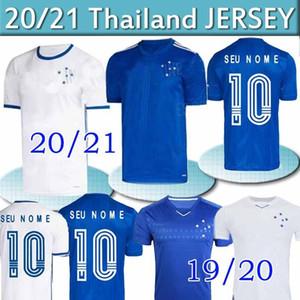 2020 CRUZEIRO soccer jersey 19 20 21 Brazil DE ARRASCAETA FRED ROBINHO THIAGO NEVES football shirt Cruzeiro home Brasil club man Camisas Tha