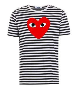 18Style 2019 COM qualità degli uomini Donne Gery Com-mes des Garçons manico totale T-shirt bianca Taglia M decisione sollecita F S