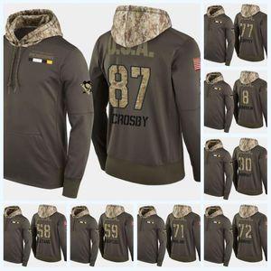 58 Kris Letang Pittsburgh Penguins Military Camo Hoodie Hoodie Flag Sidney Crosby Evgeni Malkin Patric Hornqvist Phil Kessel Hockey Jersey