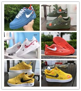 2018 New Summer forcs Causual Black Wheat White high Low men women Sports sneakers Running Shoes skate outdoor Shoes Size 36-45 TO04