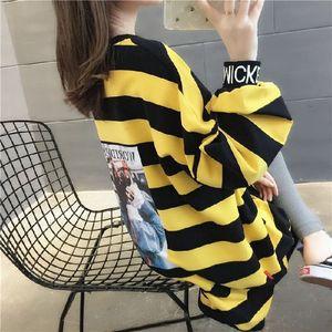 Velvet thickened striped female 2019 Winter New loose midi Korean all-match sweater Jacket sweater jacket female fashion