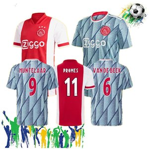 Men Kids ajax 2021 Home Away jersey maillot AJAX Kit Soccer Jersey NOURI VAN DE BEEK ZIYEC HUNTELAAR PROMES 20 21 Football Shirt