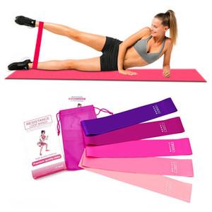 Yoga-Widerstand-Bänder-Sets bewegliches Haupt Outdoor Fitness Exercise Elastic Band Top-Qualität Anti-Rutsch-Körper-Trainings-Widerstand-Loops 050518