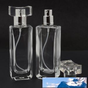 30ml Refill vidro spray garrafas de perfume recarregáveis vidro Automizer Esvaziar recipiente cosmético para o curso rápido transporte F2018