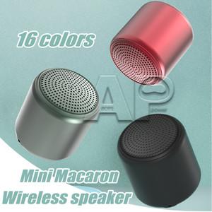 Mini Portable Bluetooth Speaker Macaron Stereo Wireless Speaker Music Waterproof Loudspeaker Outdoor Bathroom Showers Subwoofer With Paclage