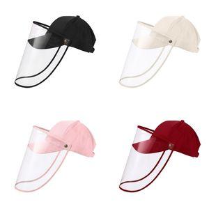 Béisbol Visera deflector antiniebla Amortiguador sombrero cabido extraíble transparente Parasol C2 11rk Cubierta de protección para hombre de los sombreros de Sun del Snapback