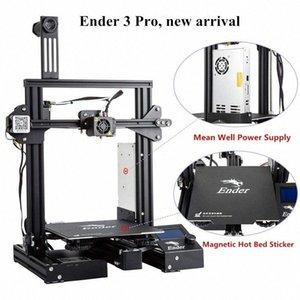 3D Ender-3 Pro Drucker 3D verbesserte Magnetische Bauen Platte Lebenslauf Stromausfall Druck DIY KIT Mean Well Netzteil yJML #