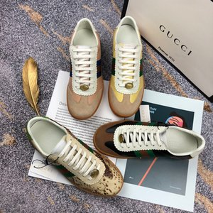 Ting2594 401011 New Color Stitching Suede Single Shoes Sneakers Dress Shoes Skate Dance Ballerina Flats Loafers Espadrilles Wedges