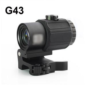 نطاق التكتيكية G43 3X المكبر نطاق البصر مع التبديل إلى جانب STS السريع انفصال QD جبل لصيد بندقية بندقية