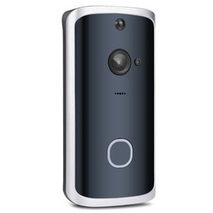 2020-M12 Smart Home Low Power Wifi sans fil Interphone vidéo Voix Interphone Téléphone mobile Surveillance Alarme Sonnette