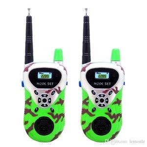 1 par Kid walkie talkie 30m ~ 50m remoto inteligentes sem fio interfone walk talk rádios muitas crianças que conversam junto