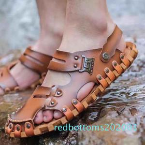 Hommes Femmes Sandales Chaussures Diapo été Mode plat large Slippery Sandales Flip Flop Slipper shoe10 P13 R03