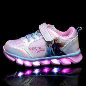 Children luminous sneakers Children's sneakers children's shoes 2020 Summer new fashion princess shoes kid shoe