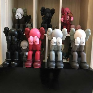 Children's Toys 28CM Originalfake KAWS Companion doll Sitting position Figure With Original Box KAWS Action Figure model decorations gift