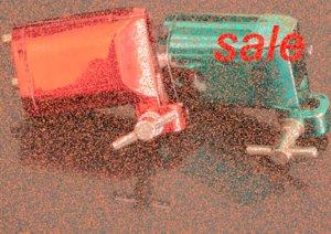 2pcs Haut Rouge Vert moteur rotatif Tattoo Shader Liner Machine Gun Pro Tattoo Machine Gun Equipment Livraison gratuite 5Sj1 #