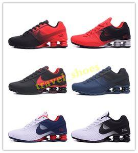 2020 new men avenue SHOX 802 809 turb black white red man tennis running shoe fashion mens sports designers sport sneakers 40-46 TC04