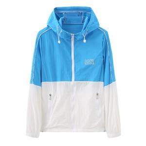 E-Baihui 2020 Sun Protection qualità dei vestiti di estate uomini e le donne giacche leggere Giacche pelle abbigliamento casual Giacche M99