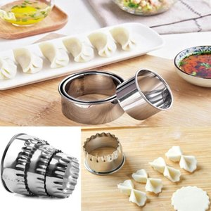 Round Stainless Steel Cookie Cutters Fondant Baking Cookie Biscuit Cutters Sandwich Cutters Cookie Cutter 3pcs Set Free Shipping