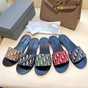 Dior slippers حار أحدث الصنادل المرأة الصيف حجر الراين كعب منخفض xshfbcl النعال اللؤلؤ مصمم عمل المرأة في اللباس الاتجاه الكلاسيكي الأزياء شبشب