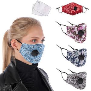 Diseño de Moda Paramecium camuflaje respirador facial máscara de filtro máscaras de protección contra la contaminación diseñador de la cara del filtro de aire de la boca Máscaras Mascarilla
