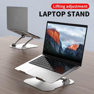ayar metal laptop Kaldırma Macbook Pro Hava 12 13 15 17 Kaymaz Katlanabilir Bilgisayar dirseğini Soğutma için Taşınabilir Dizüstü Holder standı