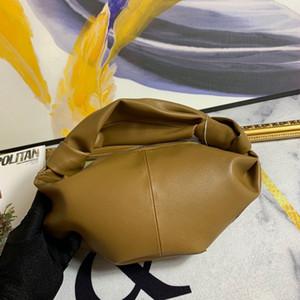 2020 nova moda e versátil pacote de saco de cloud moda feminina plissado bolinho saco de travesseiro saco de mão de mulheres