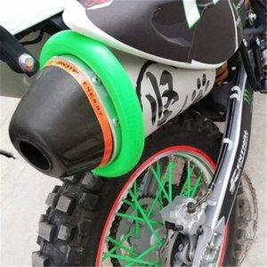 EXC-F / EXC / SX-F 450/350/530/525/500 Motosiklet Aksesuarları / Yuvarlak Oval Egzoz Koruyucu Can Kapak qaSq # için