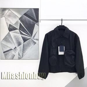 2020 Prestige Europe France Paris Eté Automne multi Pocket Zipper Mens Designer Veste Manteau Femme de peau coupe-vent manteau à capuchon