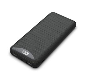 USB Şarj 10000mah Açık Taşınabilir Cep Telefonu Aksesuarları Güç Bankası ile LCD Ekran Harici Mobil Şarj Fabrika Fiyatı