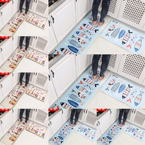 Yitao Ins нескользящей цифровая печать лапка фланель коврик ванной комнаты цифровой Ковер ковер спальня коврик дверь