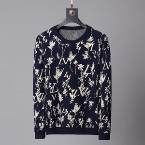 2020SS Winter men's Designer Sweaters Knitwear Women's Luxury Sweatshirts Long Sleeves Hip Hop Pullovers Brand Clothing Asian size