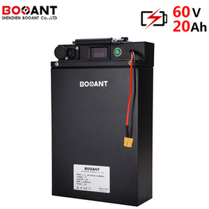 16S 60V Rechargeable lithium ion battery pack 20Ah 1000W E-bike 2000W for Panasonic 18650 cell with metal case